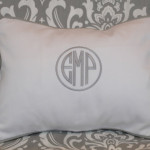 Monogramming Pillow
